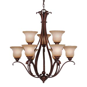 Monrovia Two-Tier Chandelier