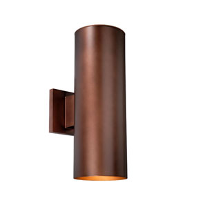 Chiasso Bronze Two-Light 5-Inch Outdoor Wall Light