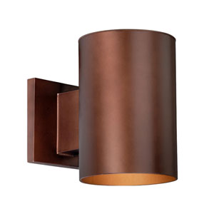 Chiasso Bronze 5-Inch Outdoor Wall Light