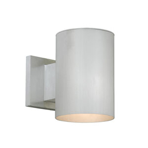 Chiasso Satin Aluminum 5-Inch Outdoor Wall Light