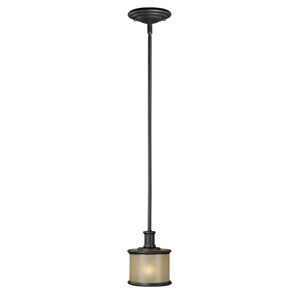 Carlisle Noble Bronze 6-Inch Mini Pendant