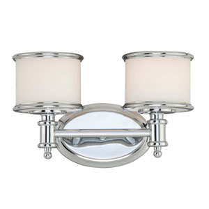 Carlisle Chrome Two-Light Vanity