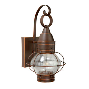 Chatham Burnished Bronze Three-Light 8-Inch Led Outdoor Wall Light