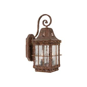 Edinburgh Colonial Iron Two-Light Outdoor Wall Light