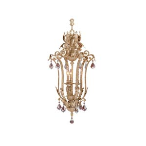 Empire Phoenician Platinum Three-Light Hanging Pendant