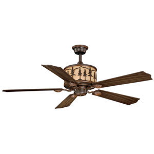 Yosemite Burnished Bronze 56-Inch Ceiling Fan