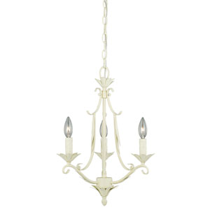 Austen Gilded Patina Three-Light Chandelier
