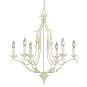 Austen Gilded Patina Six-Light Chandelier