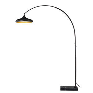 Bacio Instalux Oil Rubbed Bronze LED Arc Lamp