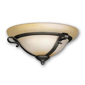 Oil Rubbed Bronze Two-Light 13-Inch Light Kit