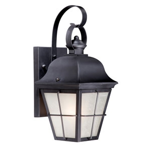New Haven Oil Rubbed Bronze 7-Inch Outdoor Wall Light