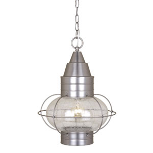 Chatham Brushed Nickel 13-Inch Outdoor Pendant