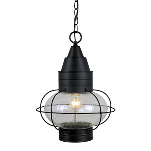 Chatham Textured Black 13-Inch Outdoor Pendant