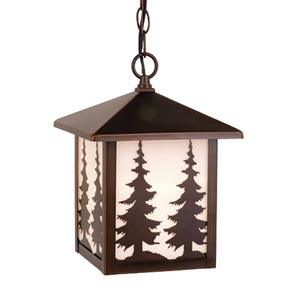 Scenic Outdoor Hanging Lantern