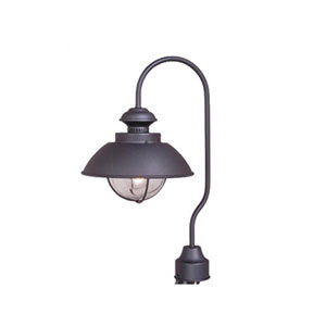 Harwich Textured Black Outdoor Post Light