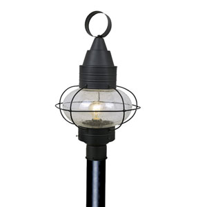 Chatham Textured Black Outdoor Post Light