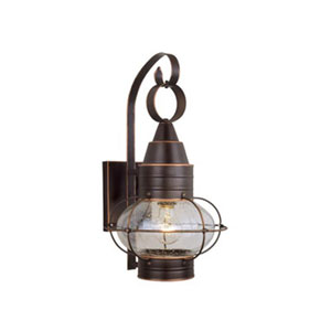 Chatham Burnished Bronze 10-Inch Outdoor Wall Light