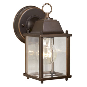 Millard Burnished Bronze 5-Inch Outdoor Wall Light