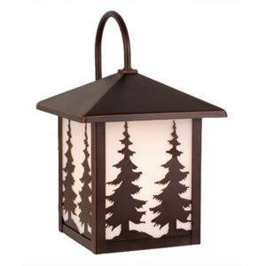 Scenic Outdoor Wall-Mounted Lantern