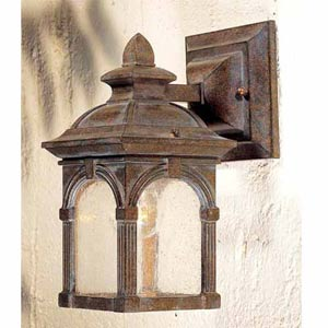Essex Royal Bronze Outdoor Wall Light
