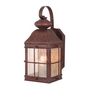 Revere Royal Bronze 7-Inch Outdoor Wall Light