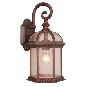 Chateau Royal Bronze 8-Inch Outdoor Wall Light