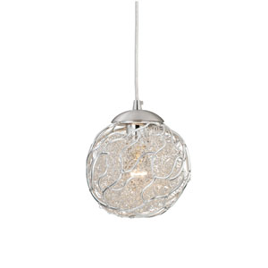 Milano Satin Nickel Mini Pendant