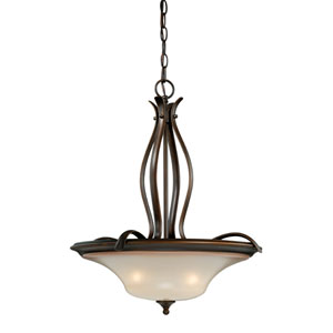 Sonora Three-Light Venetian Bronze Pendant