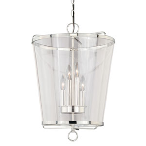 630 Series Polished Nickel 17-Inch Pendant