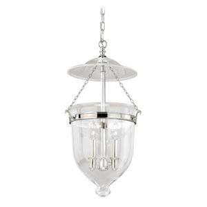 630 Series Polished Nickel 13-Inch Pendant