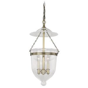 630 Series Antique Brass Three-Light Pendant