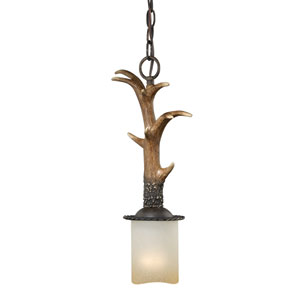 Yoho Black Walnut One-Light Mini Pendant
