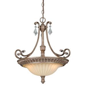 Avenant French Bronze Three-Light Pendant