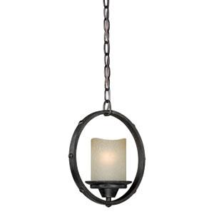 Halifax Black Walnut One-Light Mini Pendant