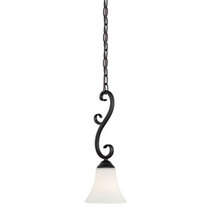 Belleville Oil Rubbed Bronze One-Light Mini Pendant