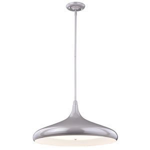 Bacio Instalux Taupe 21-Inch LED Pendant