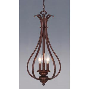Monrovia Three-Light Pendant