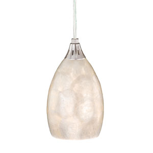 Milano Satin Nickel 4-1/2-Inch Mini Pendant