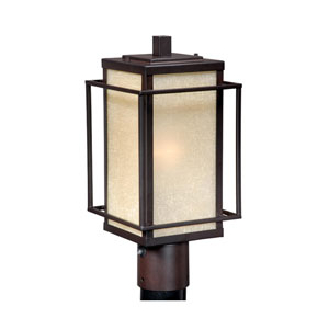 Robie Espresso Bronze 7-Inch Outdoor Post Light
