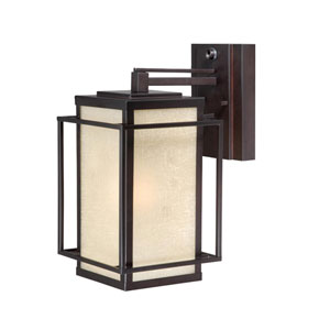 Robie Espresso Bronze 7-Inch Outdoor Wall Light