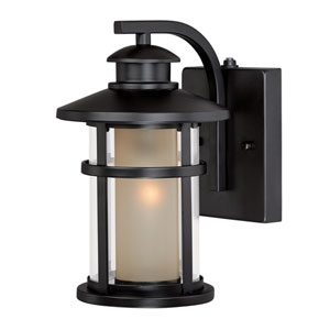 Cadiz Oil Rubbed Bronze 7-Inch Outdoor Wall Light