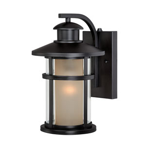 Cadiz Oil Rubbed Bronze 8-Inch Outdoor Wall Light