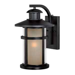 Cadiz Oil Rubbed Bronze 10-Inch Outdoor Wall Light