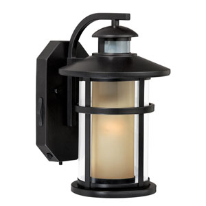 Cadiz Oil Burnished Bronze One-Light Outdoor Motion Sensor