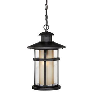 Cadiz Oil Burnished Bronze One-Light Outdoor Pendant