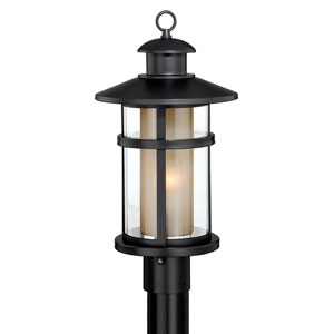 Cadiz Oil Burnished Bronze One-Light Outdoor Post Mount