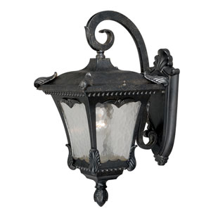 Castile Weathered Bronze 11-Inch One-Light Outdoor Wall Sconce