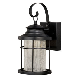 Melbourne Oil Rubbed Bronze 6.5-Inch One-Light LED Outdoor Wall Sconce