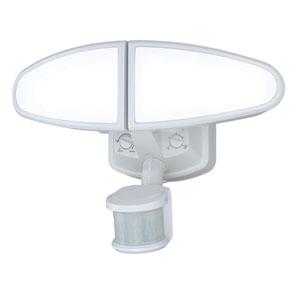 Kappa LED White Two-Light Outdoor Motion Sensor
