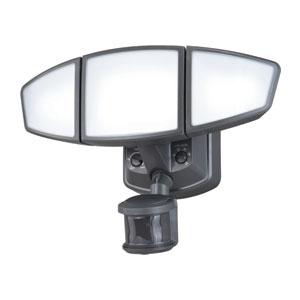 Omega Dualux® Charcoal LED Motion Sensor Security Light